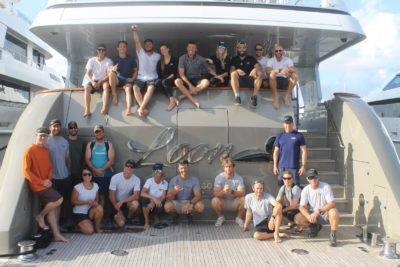 Motoryacht Loon's crew works unique 'charter' after Hurricane Dorian