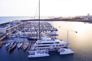 Monaco19: Canaries promote yacht visits