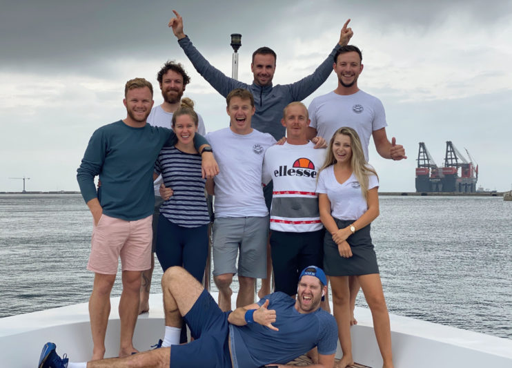 M/Y Lazy Z crew runs its way across the Atlantic for Bahamas
