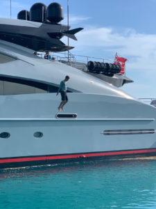 Crew Eye in the Bahamas