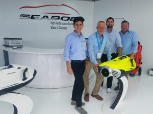 Seabob company raises $23,000 for charities
