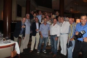 FLIBS19: '92 America's Cup mini-reunion at 4th annual AIG dinner