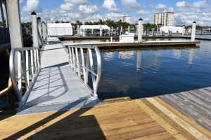 FLIBS19: New docks underfoot at Hall of Fame Marina