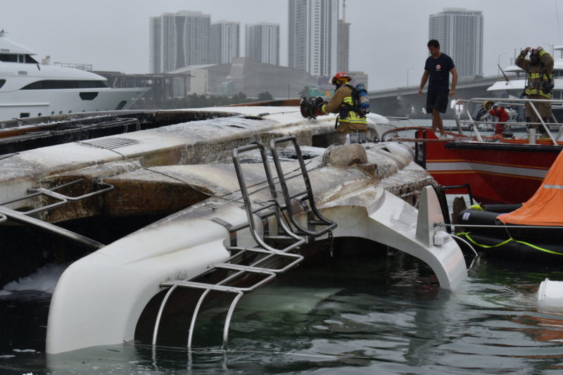Yacht fires light up crew training, awareness