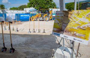 New drystack under construction