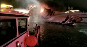 Recent yacht fires a warning: Know your insurance details