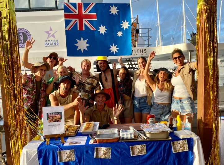 M/Y Elixir taps yacht crew for Australia bushfire aid