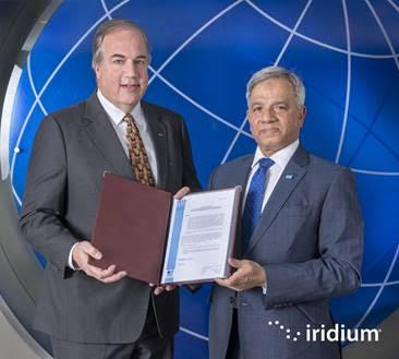 Iridium authorized to provide GMDSS service