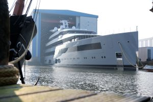 Feadship launches 99.95m Moonrise