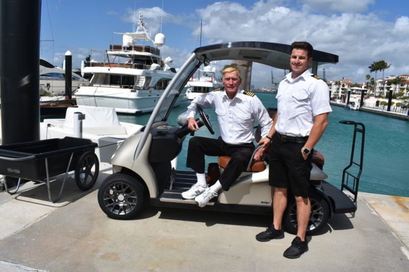Bow thrusters to epaulettes, yacht engineer values mentor's lessons