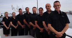 Yacht captain social media star shares life onboard