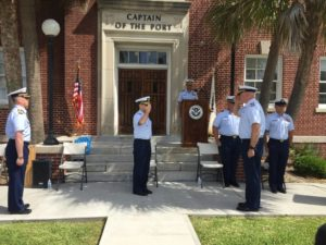 New captain of the port for Charleston USCG