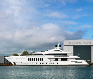 Latest in the brokerage fleet: Heesen sells Pollux; Asgard listed