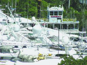 Captains allege unfair dockage rates in hurricanes