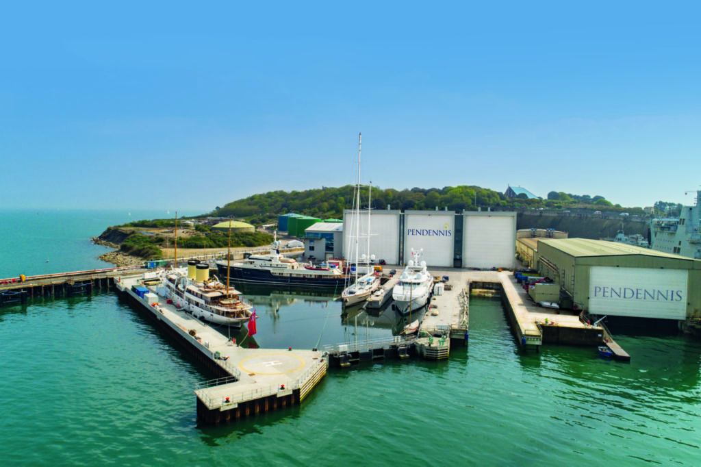 Un regard sur le chantier naval de Pendennis | Cornwall