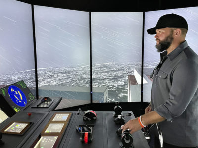 Sophisticated new simulator elevates crew training in Southern California